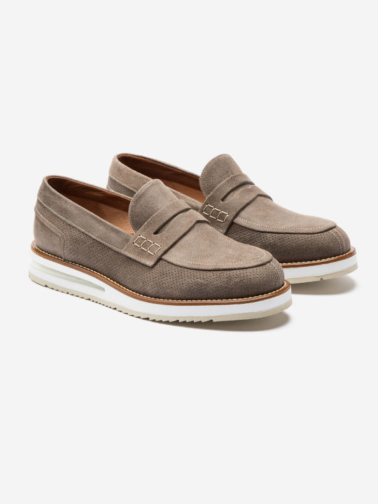Air Moccasin Dust Suede