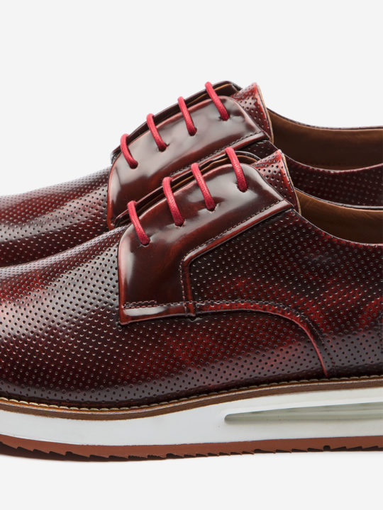 Air Derby Red Leather