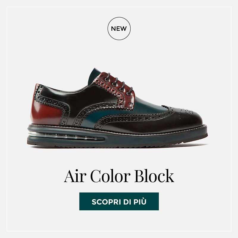 Air Brogue Color Block