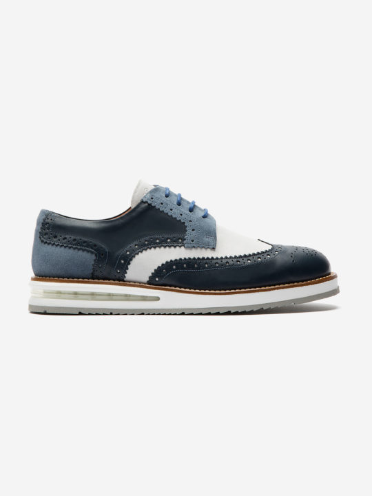 Air Brogue Blue & White