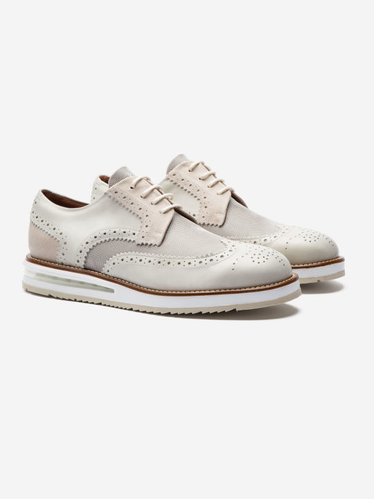 Air Brogue Light Grey