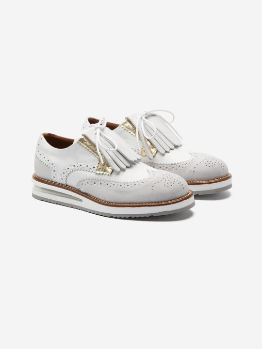 Air Brogue Woman White