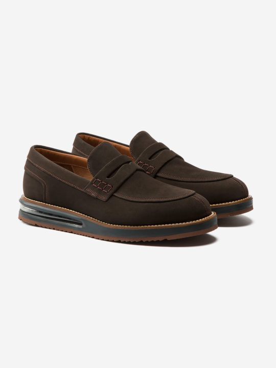 Air Moccasin Brown Suede