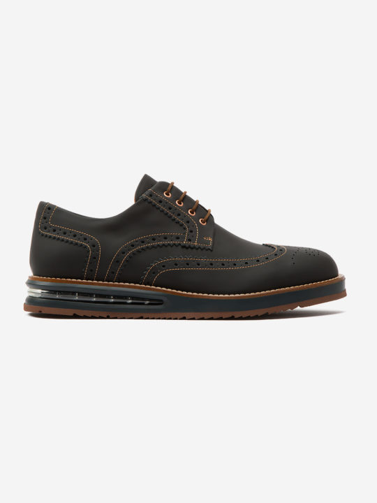 Air Brogue Black Fibercuir®