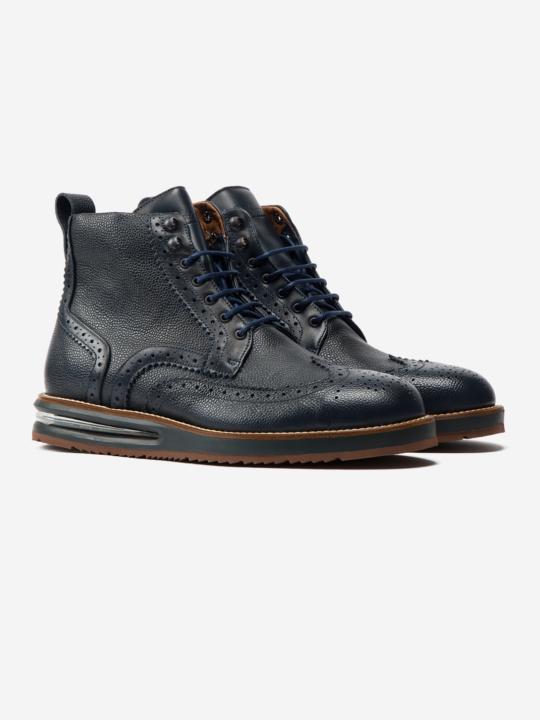 Air Brogue Boot Blue