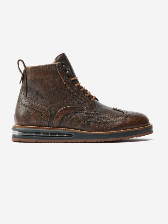 Air Brogue Boot Brown