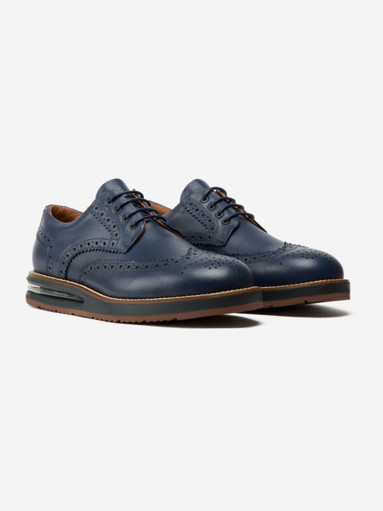 Air Brogue Blue Soft