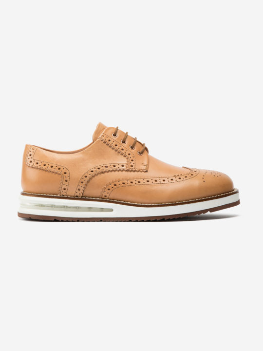Air Brogue Natural Leather