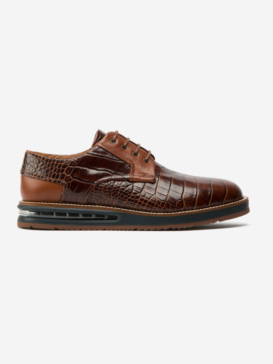 Air Derby Brown Croco