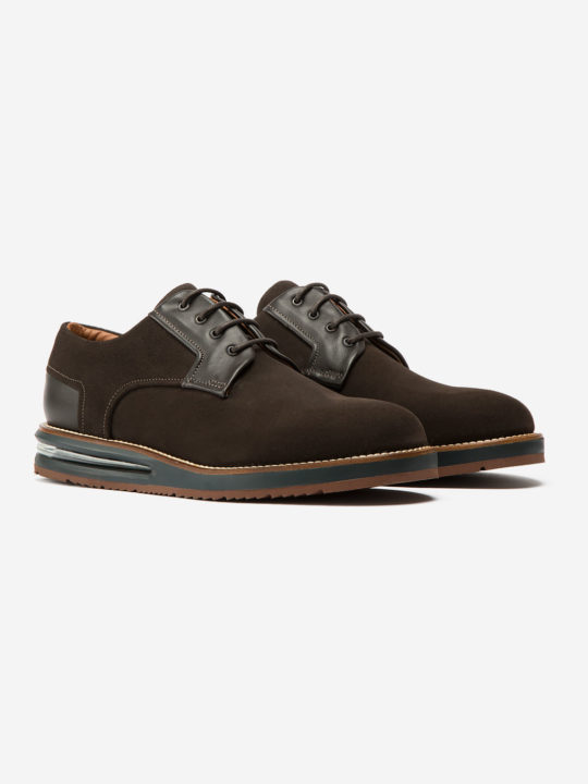 Air Derby Coffee Suede