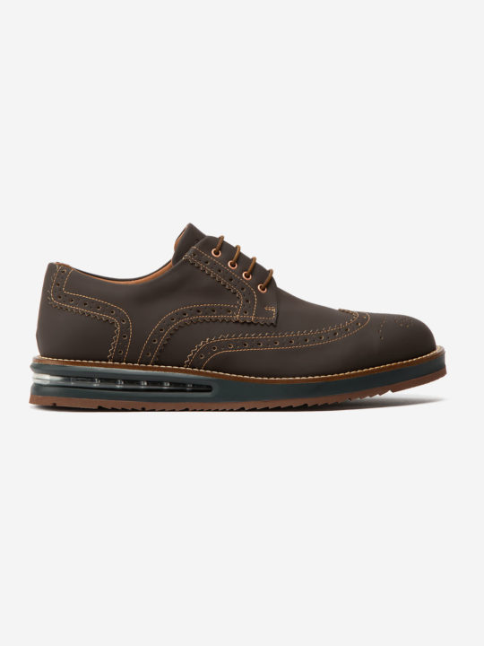 Air Brogue Coffee Fibercuir®