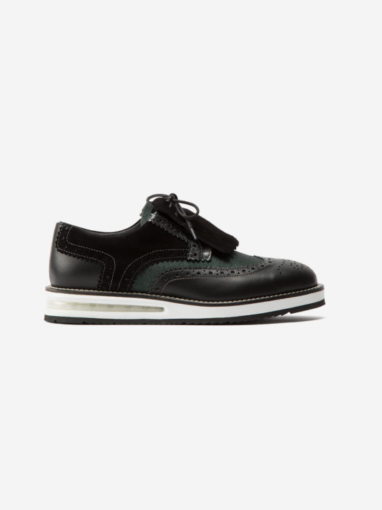 Air Brogue Woman Black