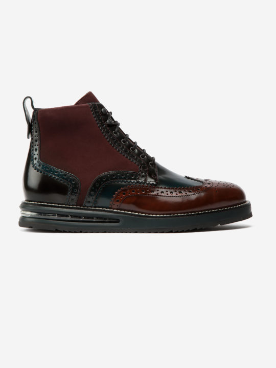 Air Brogue Boot Color Block