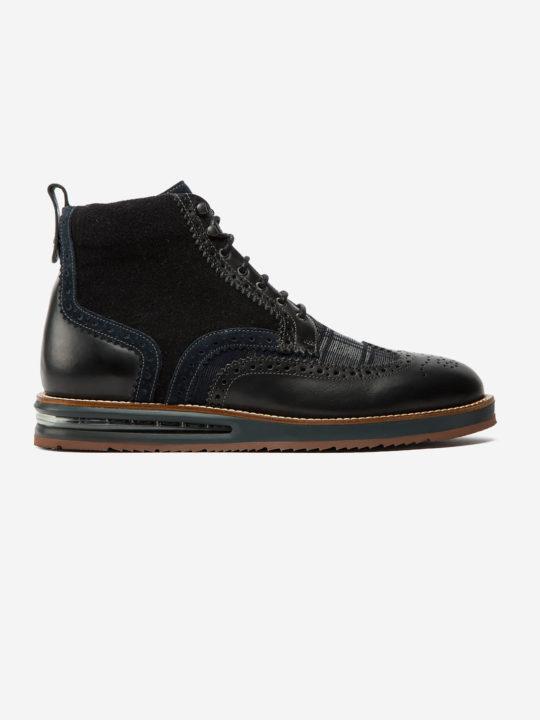 Air Brogue Boot Black Spencer