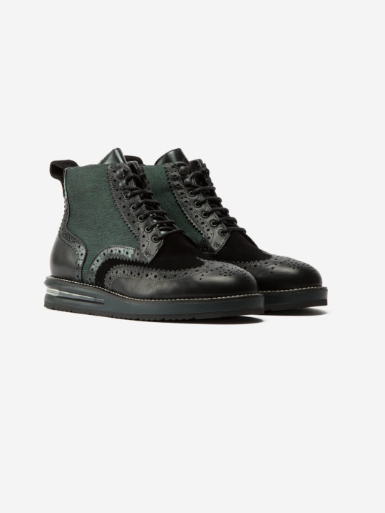 Air Brogue Woman Army Boot