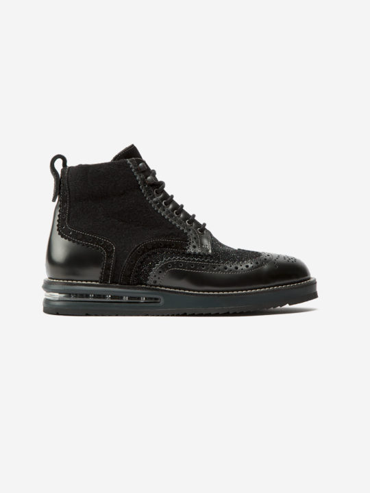 Air Brogue Woman Black Boot