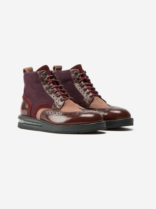 Air Brogue Woman Ruby Boot