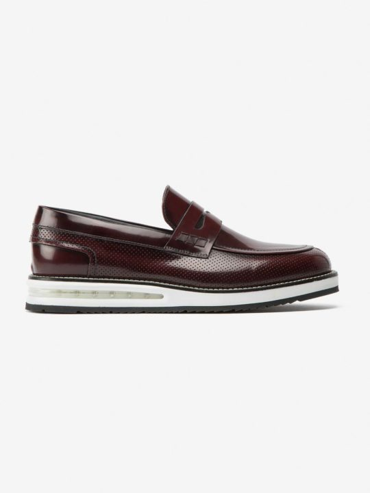 Air Moccassin Ruby Leather