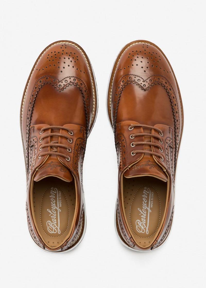 Air Brogue Caramel Leather