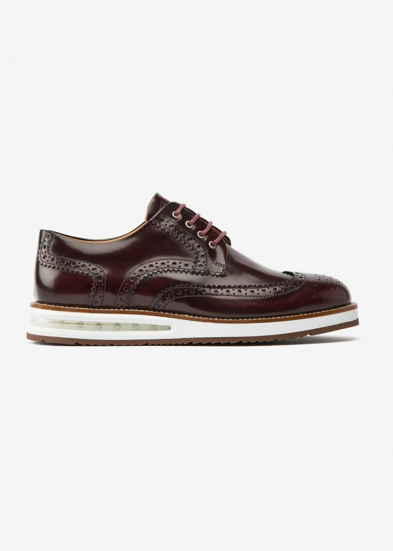 Air Brogue Ruby Leather