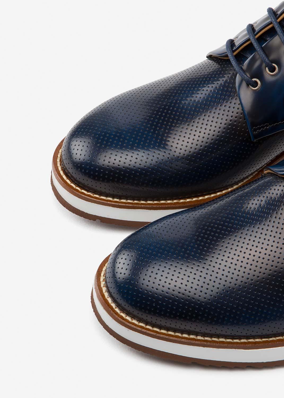 Air Derby Cobalt Leather