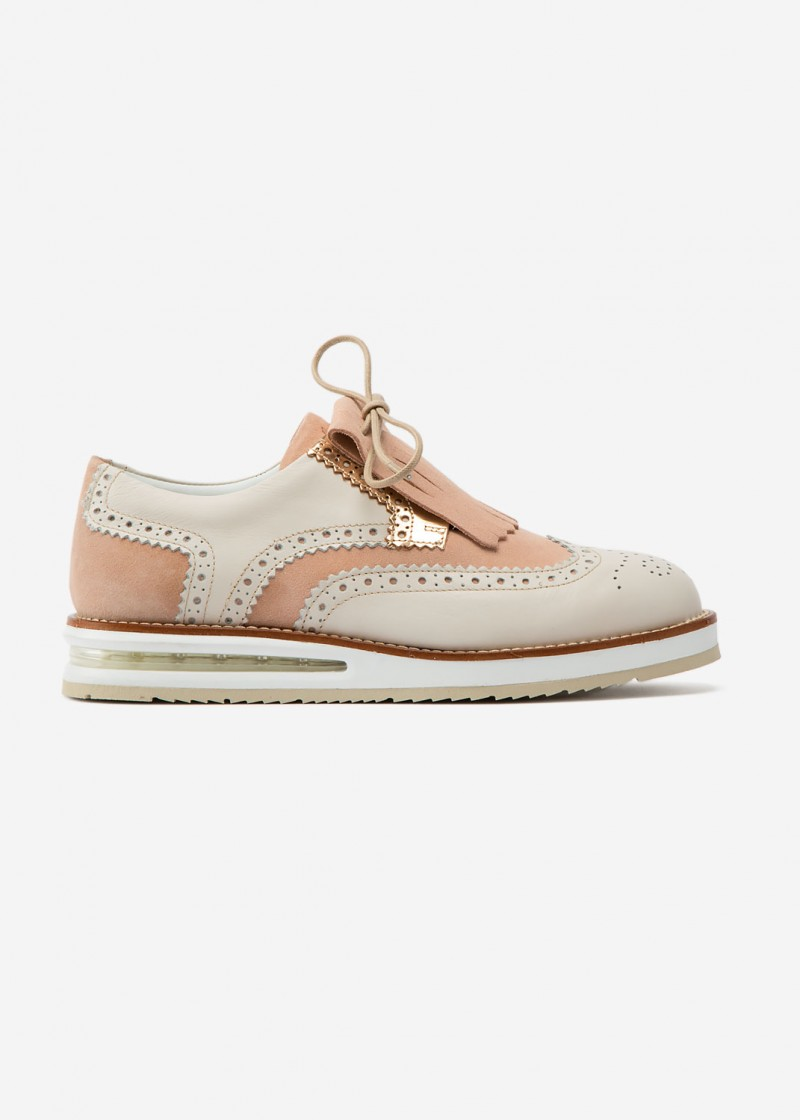 Air Brogue Woman Sand