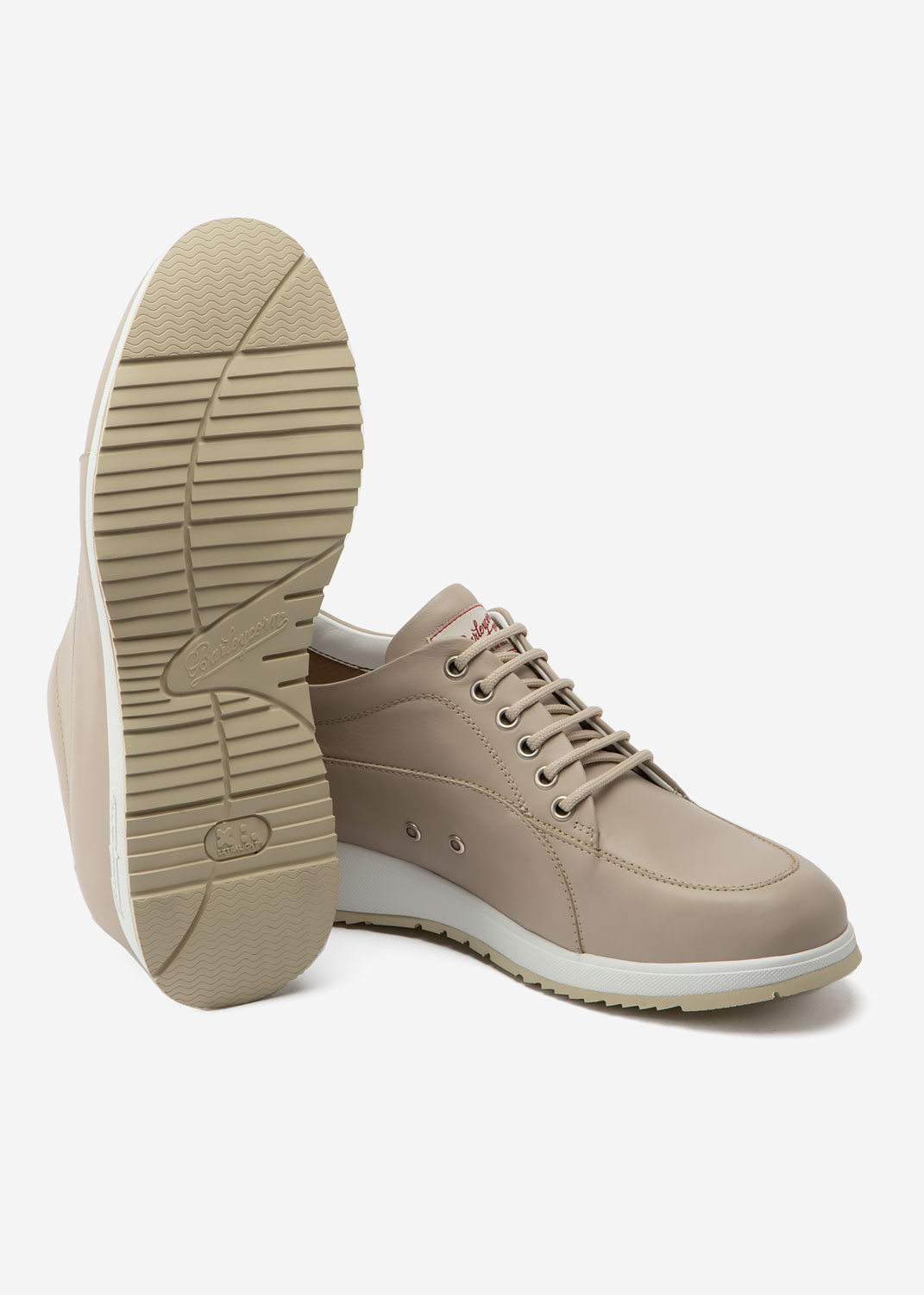 New Classic Beige Leather