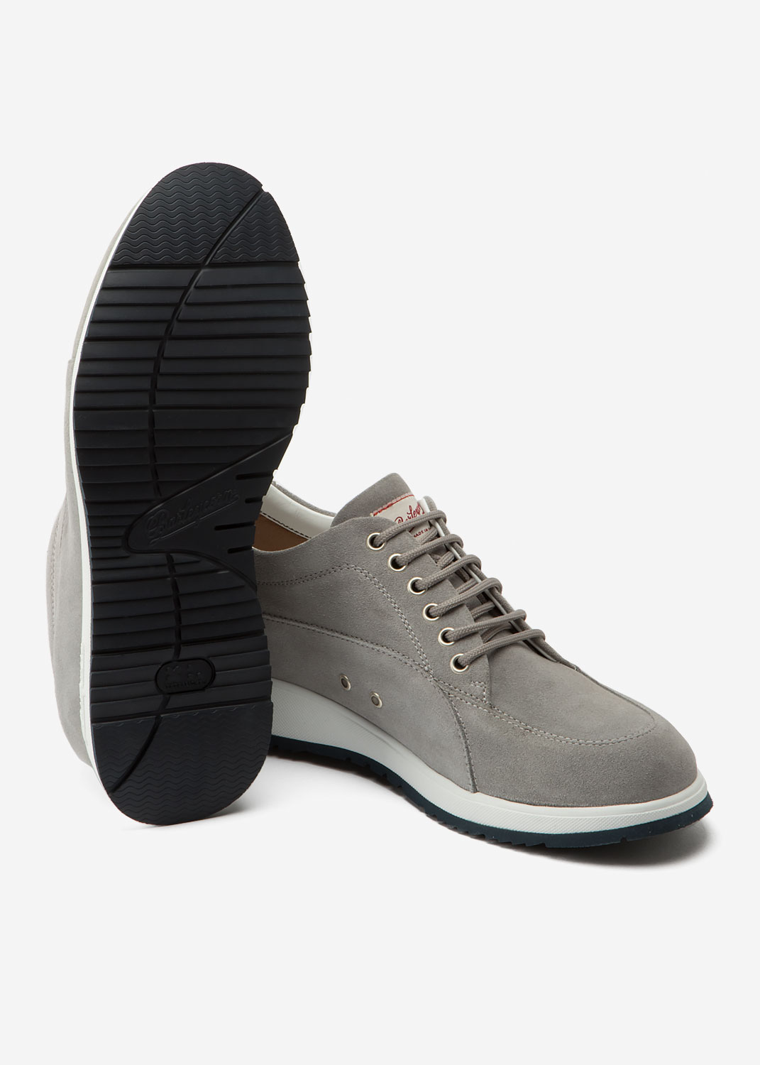 New Classic Grey Suede