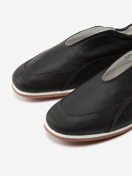 Mita Black Nappa Leather