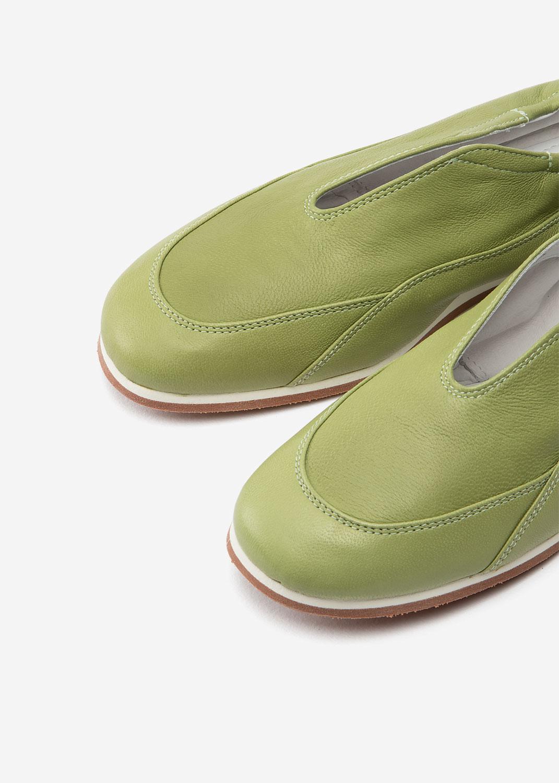 Mita Sage Nappa Leather