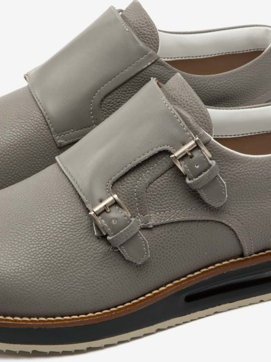 Air Monk Strap Grey