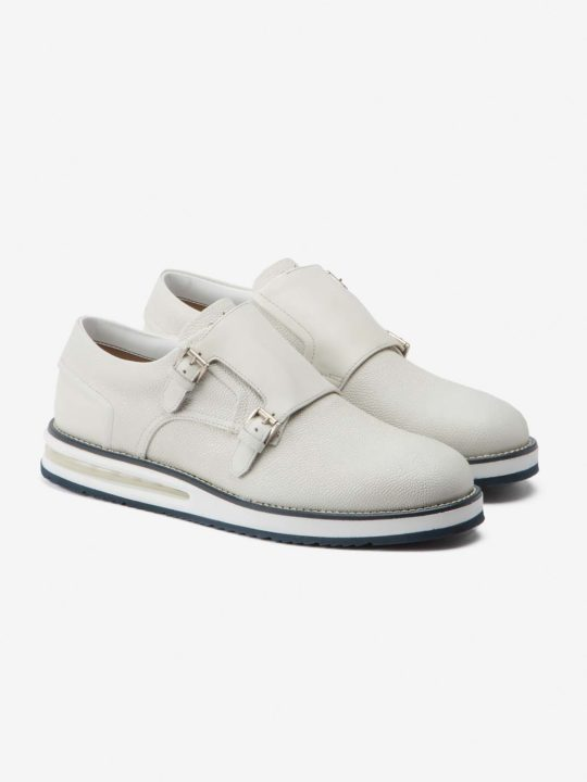 Air Monk Strap White