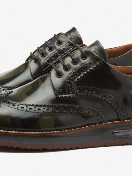 Air Brogue Camouflage Leather