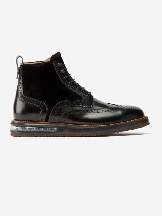 Air Brogue Boot Black