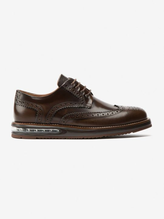 Air Brogue Choco Leather