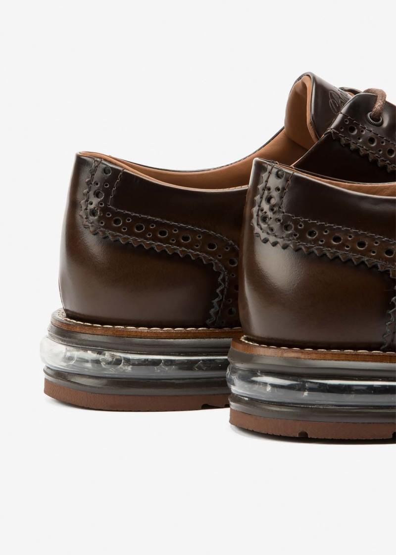 Air Brogue Choco Leather