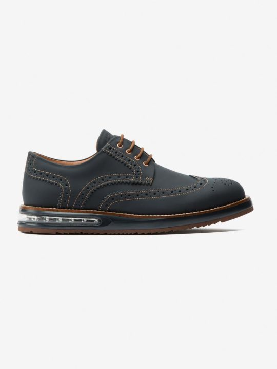 Air Brogue Navy Fibercuir®
