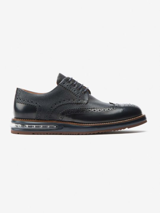 Air Brogue Blue Grain