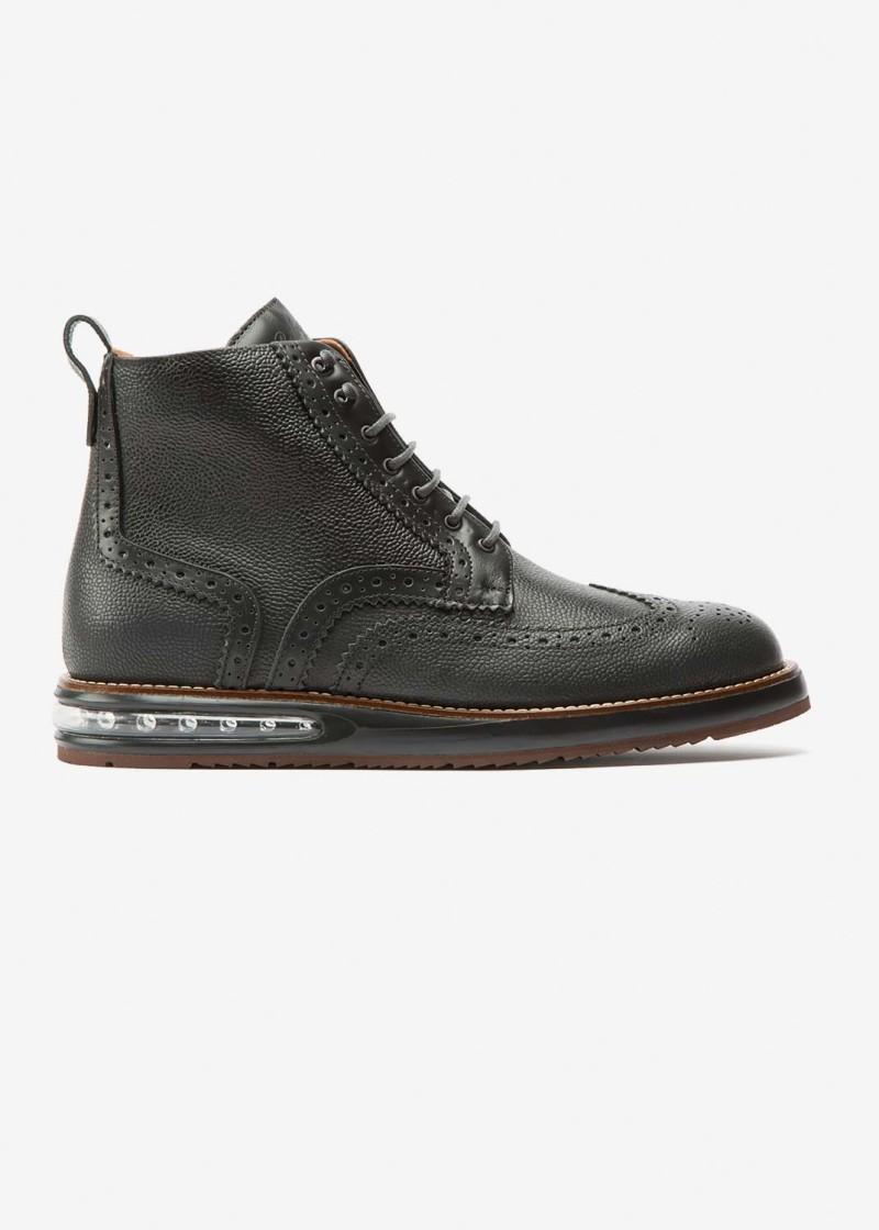 Air Brogue Boot Dark Grey