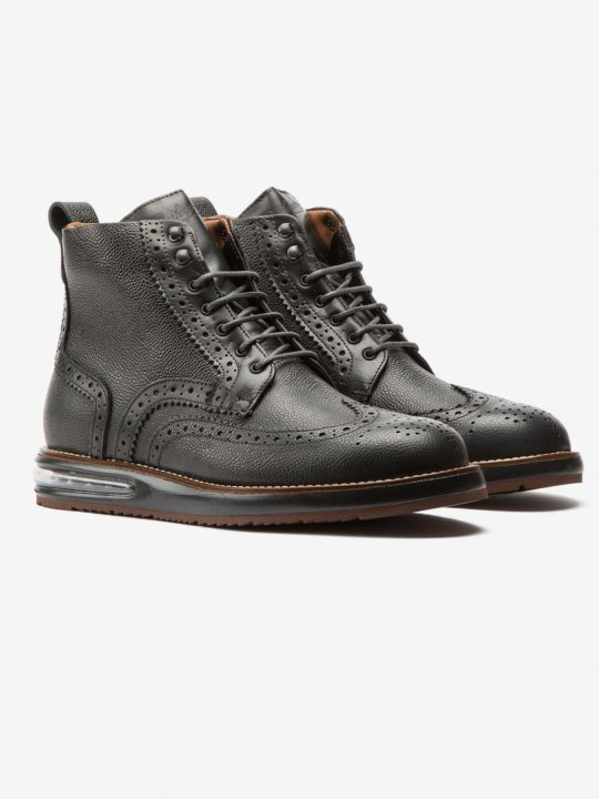 Air Brogue Boot Dark Grey