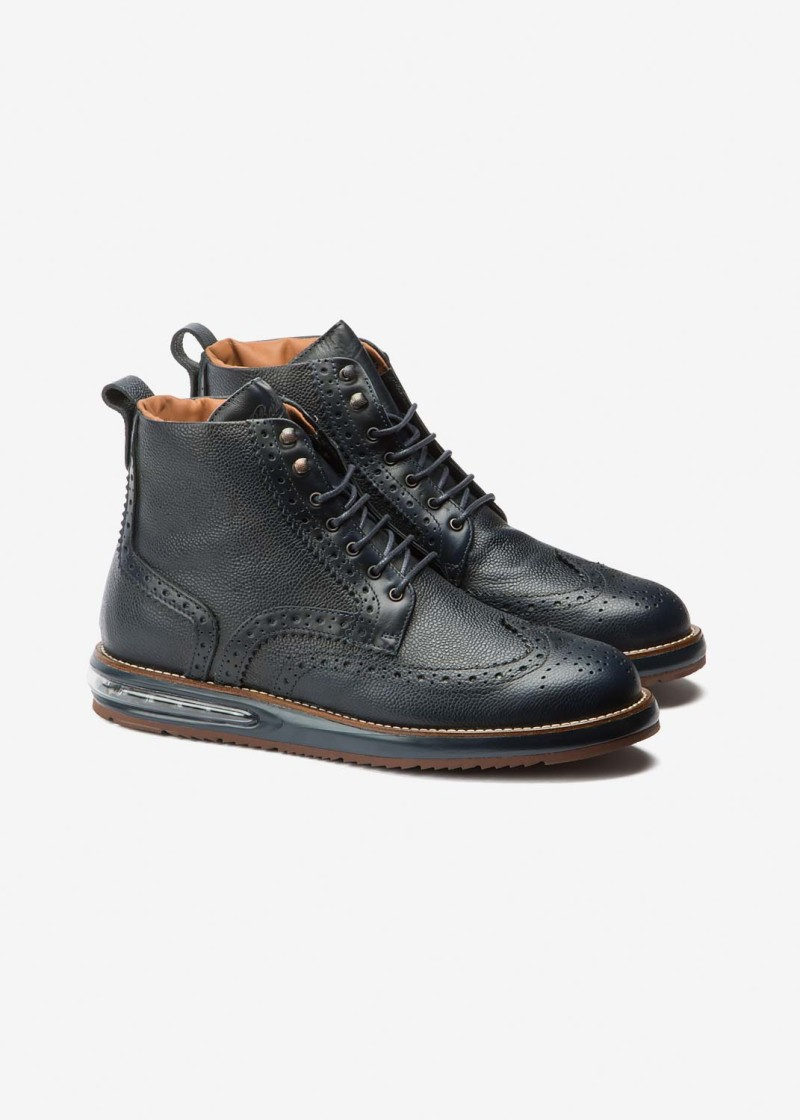 Air Brogue Boot Blue