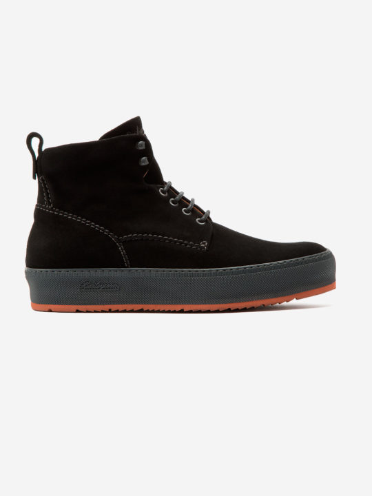 Classic 781 Boot Black Suede