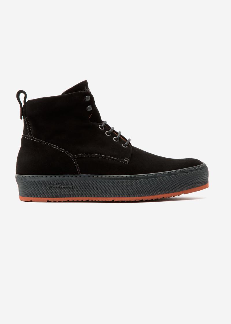 Classic 781 Boot Black Suede