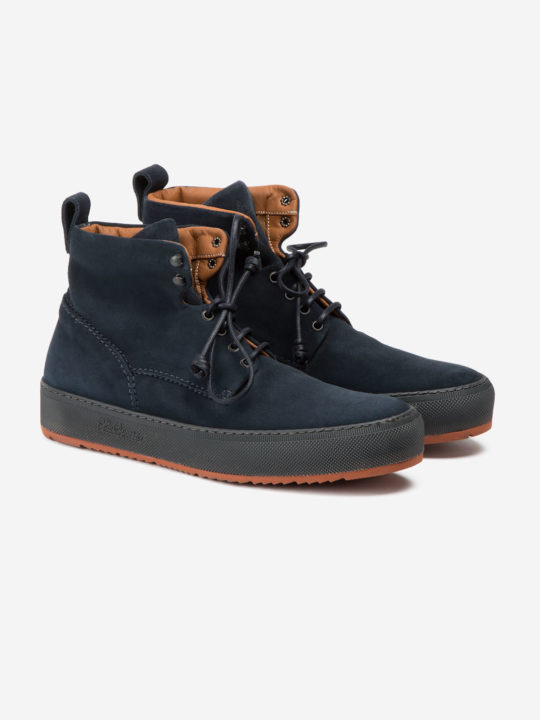 Classic 781 Boot Blue Suede