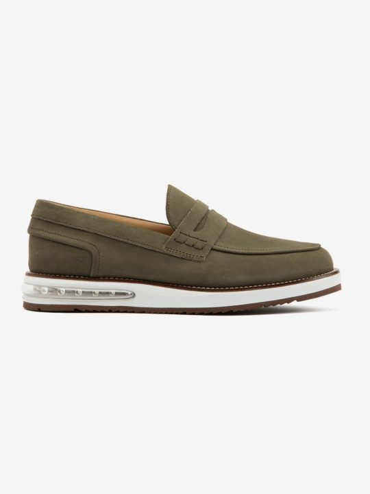 Air Moccasin Army Suede