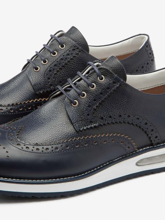 Air Brogue Grain Blue