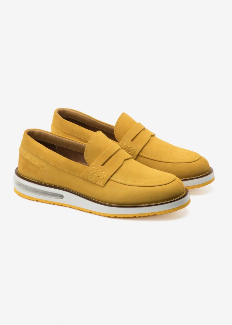 Air Moccasin Yellow Suede