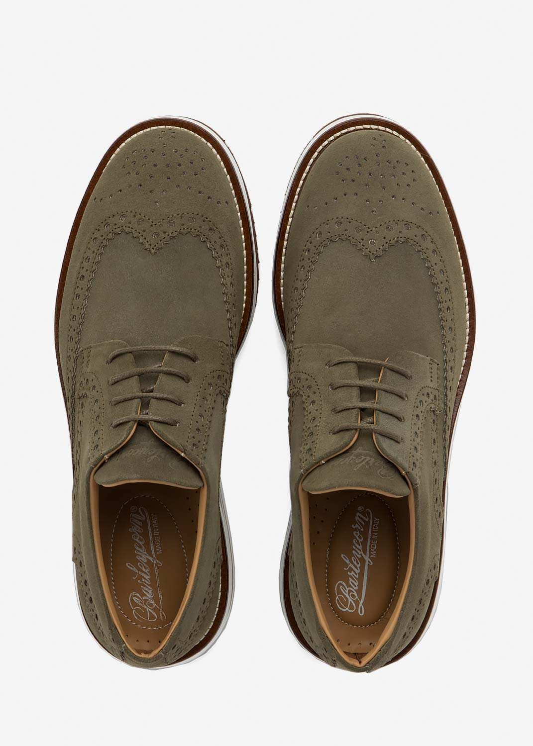 Air Brogue Army Suede