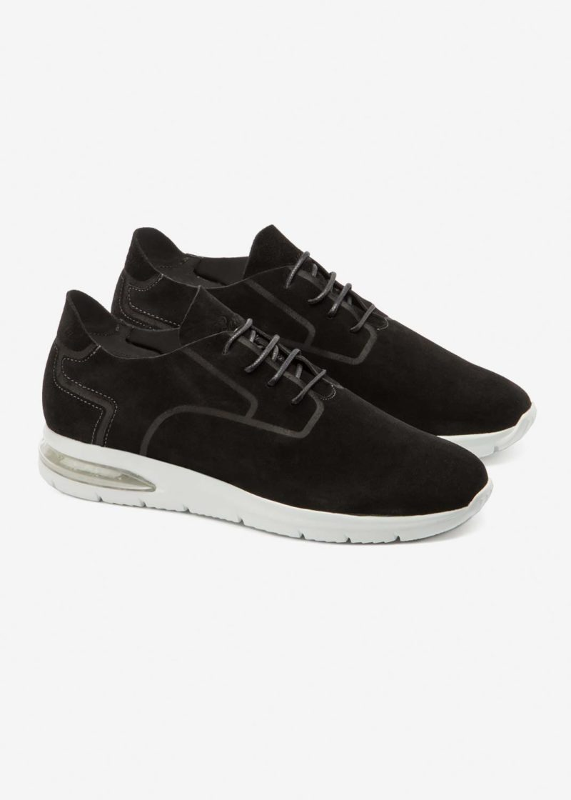 Air Grecale Black Suede