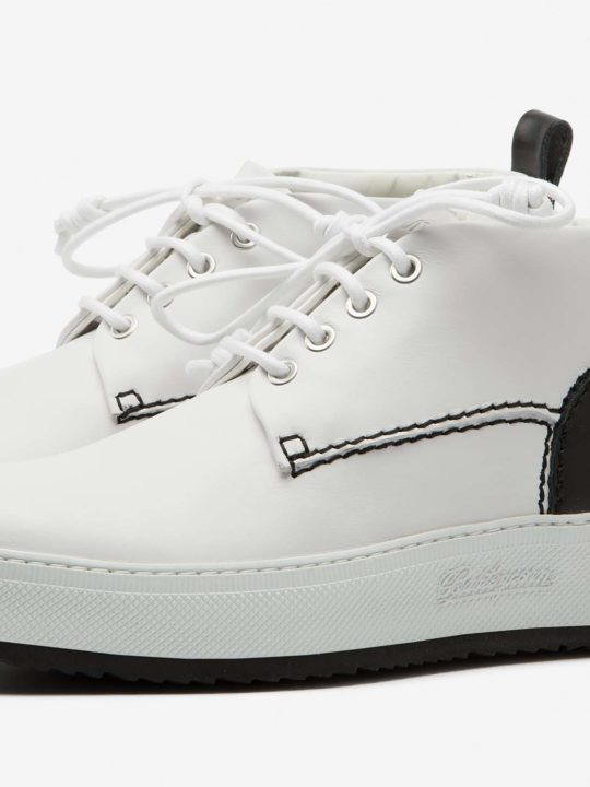 Classic 781 Woman White Leather